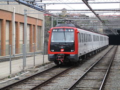 Metro Barcelona train type 5000