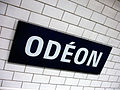 Metro de Paris - Ligne 10 - Odeon 02.jpg
