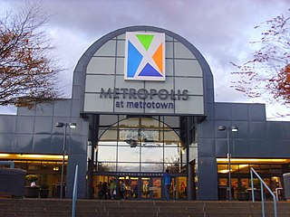 Shopping mall in Burnaby, British Columbia