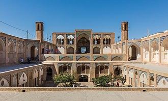 Agha Bozorg mosque - Image: Mezquita de Agha Bozorg, Kashan, Irán, 2016 09 19, DD 82