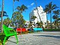 Miami Beach - South Beach buildings - Lummus Park and the Victor Hotel.jpg