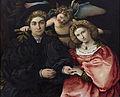Micer Marsilio Cassotti y su esposa Faustina (Lorenzo Lotto).jpg