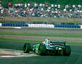Michael Schumacher - Benetton 194 at the 1994 British Grand Prix (31697623104).jpg