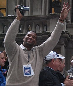 Michael Strahan superbowl parade.jpg