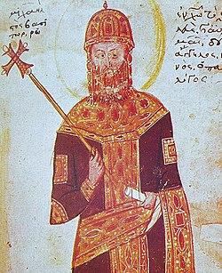Michael VIII Palaiologos (head)