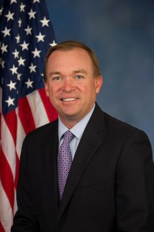 Office of Management and Budget - Current Director Mick Mulvaney