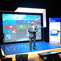 Microsoft Malaysia's big man Carlos Lacerda. He didn't skate on a Surface this time -) -SurfacePro3 (14873943840).jpg