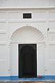 Middle Door With Mihrab And Signage - Three Dome Masjid - Jafarganj - Murshidabad 2017-03-28 6260.JPG