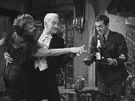 Cruys Voorbergh (m.) met Mieke Verstraete en John Leddy (1960)