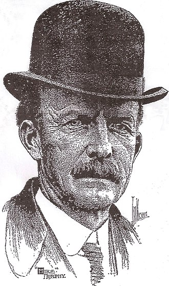 Mike Murphy (trainer and coach) - Mike Murphy, illustration from 1913 obituary in The Philadelphia Inquirer