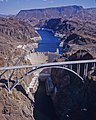 Mike O'Callaghan-Pat Tillman Memorial Bridge, Hoover Dam, Lake Mead 2010-10-12.jpg