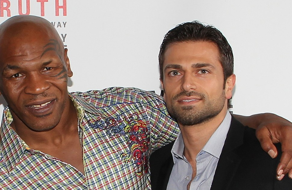 Mike Tyson and Ahmed Salim