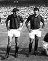 Milan AC (ca. 1960s–70s) - Angelo Anquilletti and Nestor Combin.jpg