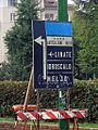 Milano - piazza Michele Cappelli - vecchio cartello stradale.JPG