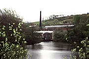 Mill and pond, Marsden - geograph.org.uk - 775364.jpg