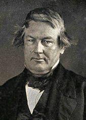 Retrato do daguerreótipo de Fillmore em 1849