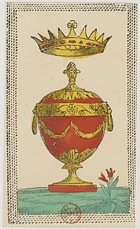 Minchiate card deck - Florence - 1860-1890 - Cups - 01.jpg