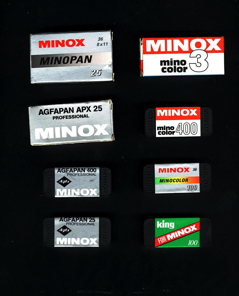 Minox film packages