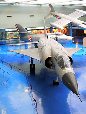 Hawker Siddeley P.1154 - Image: Mirage III V 01 Musee du Bourget P1020107