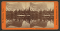 Mirror Lake and reflections, Yo-Semite Valley, Mariposa County, by Lawrence & Houseworth 3.png