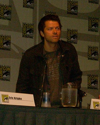 Castiel (Supernatural) - Collins at the 2009 Supernatural Comic Con International panel in San Diego