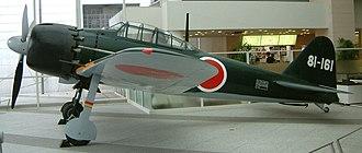 """Mitsubishi - Mitsubishi A6M """"Zero"""" fighter"""