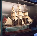 Model of the full rigged ship Marie Rosalie, 19th century, MS, 2017-08-02.jpg
