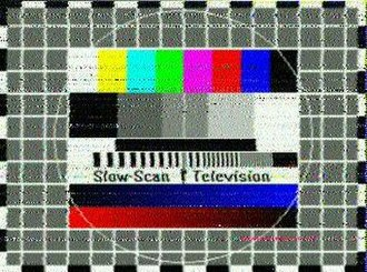 Slow-scan television - Slow scan Test card