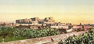 Ahmad I ibn Mustafa - Ruins of the Mohamedia palace in 1899