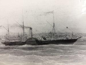 SS Mona's Queen (1853) - Image: Mona's Queen (I)