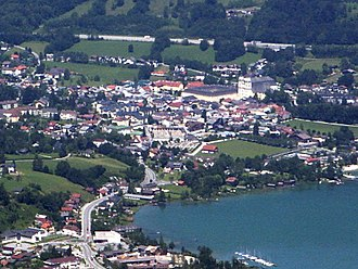 Mondsee (town) - Image: Mondsee cut