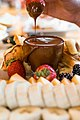 Monki Dark Chocolate Fondue served with waffles and fruit.jpg