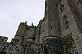 Mont Saint Michel Abbey walls (32768400412).jpg