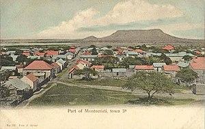 Monte Cristi, Dominican Republic - Montecristi in 1906.
