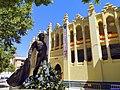 Monumento a Dámaso González. Plaza de toros de Albacete.jpg