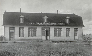 Moosonee - Révillon Frères store in Moosonee