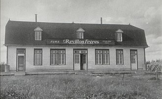 Moosonee - Révillon Frères store in Moosonee