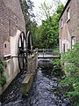 Morden Hall - Mill race and wheel - geograph.org.uk - 1298638.jpg