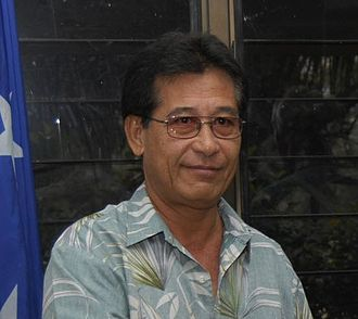 President of the Federated States of Micronesia - Image: Mori FSM