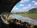 Morumbi train station and Rio Pinheiros.jpg