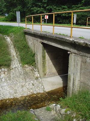 Trnava (Međimurje) - Image: Most na Trnavi, Gornji Mihaljevec