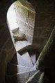 Mosteiro de San Lourenzo de Carboeiro - Monasterio de San Lorenzo de Carboeiro - Monastery of Carboeiro - Interior - 07 - Escaleiras á torre.jpg