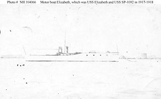 USS <i>Elizabeth</i> (SP-1092)