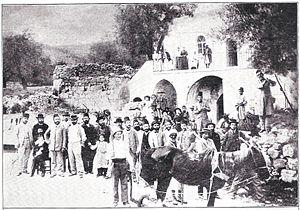 Motza - Residents of Motza before 1899