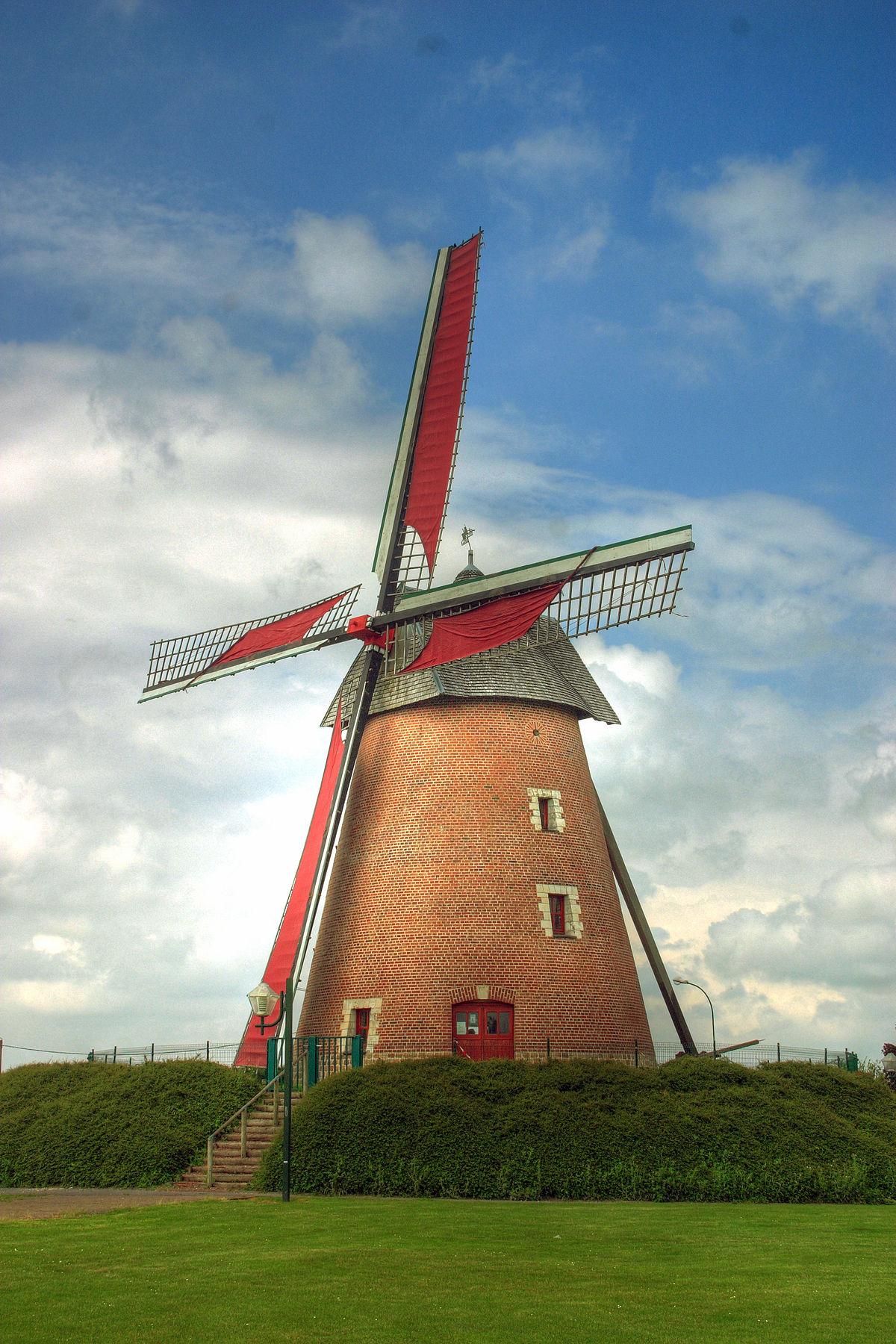 Molino wikipedia la enciclopedia libre for Piscina molino de viento y sombrilla