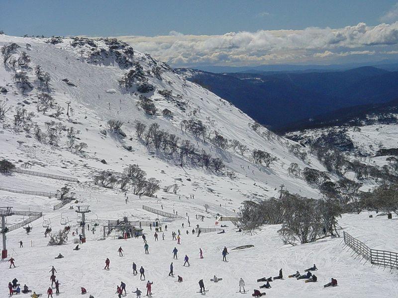 Tem neve na Austrália