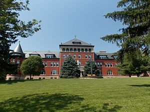 Sisters of Charity of the Blessed Virgin Mary - Mount Carmel, the Motherhouse complex, in Dubuque
