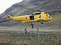 Mountain rescue practice at Morvich - geograph.org.uk - 639780.jpg