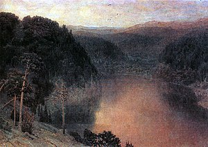 Apollinary Vasnetsov - Image: Mountaing lake