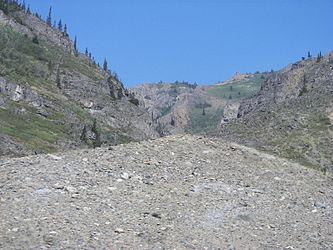 Mountains near British Columbia Yukon border from Klondike Highway.jpg